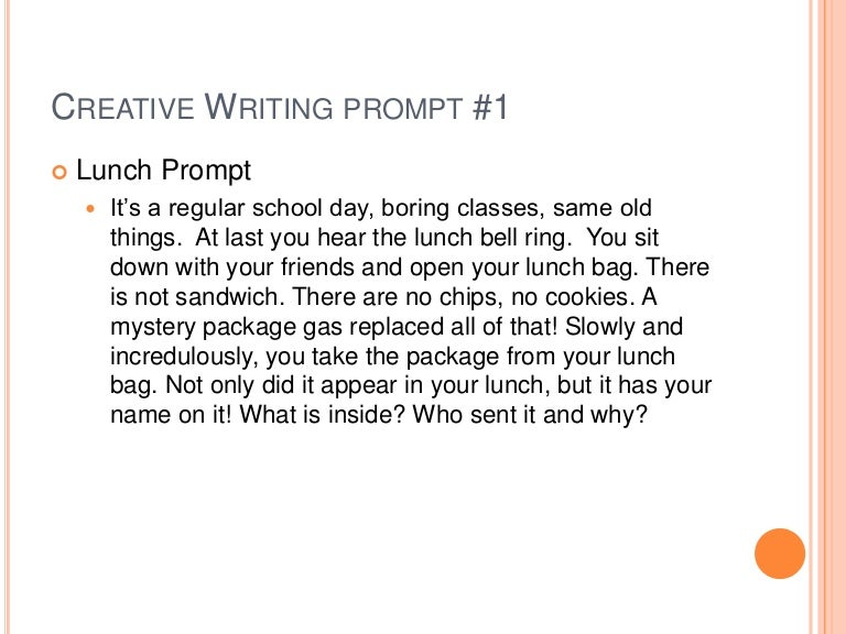 10 Fresh Writing Prompts for High School English
