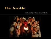 The Crucible: Historical Context