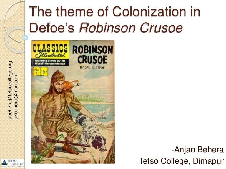 postcolonial reading of robinson crusoe