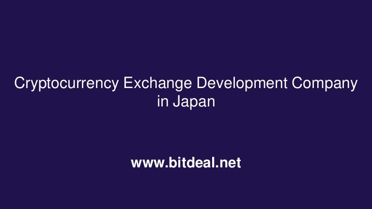 cryptocurrency exchanged development