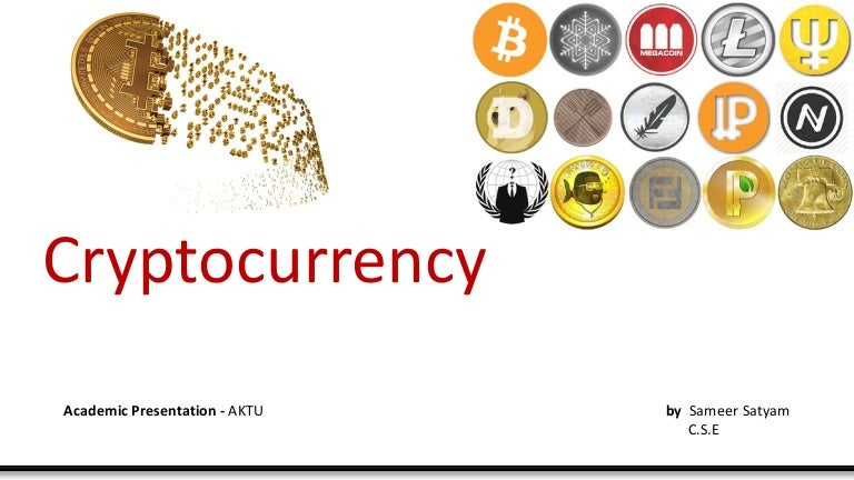 compareable markets for cryptocurrency ppt