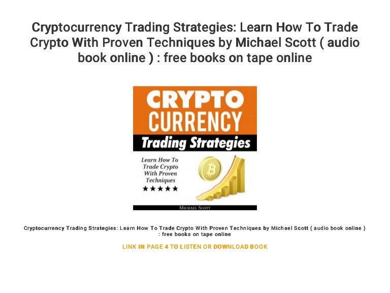 cryptocurrency trading cryptocurrency trading strategy