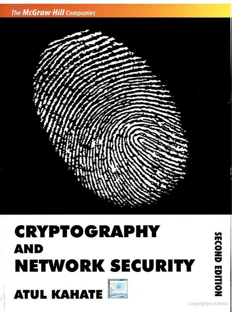 Cryptography & network security-atul kahate.