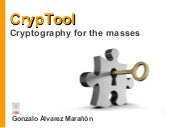 CrypTool: Cryptography for the masses