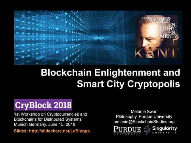 Smart City Cryptopolis
