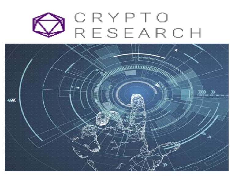 cryptocurrency investment research