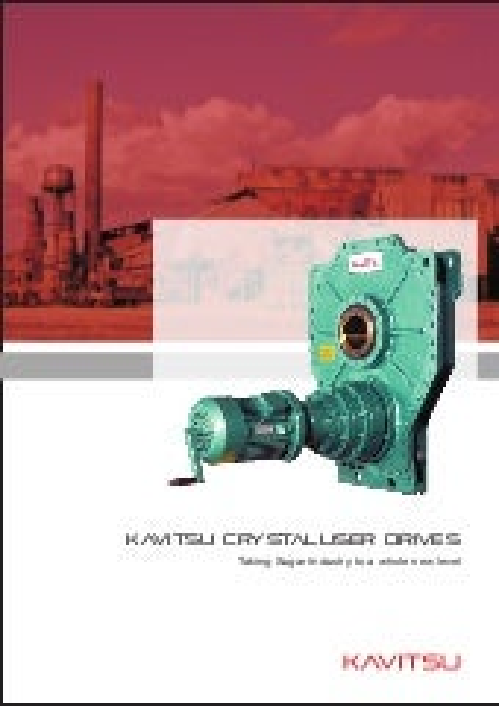 Kavitsu Crystalliser drive catalogue