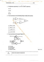 ISRO - Computer Science - 2007 - Question Paper - TheOnlineMaterial.Blogspot.com