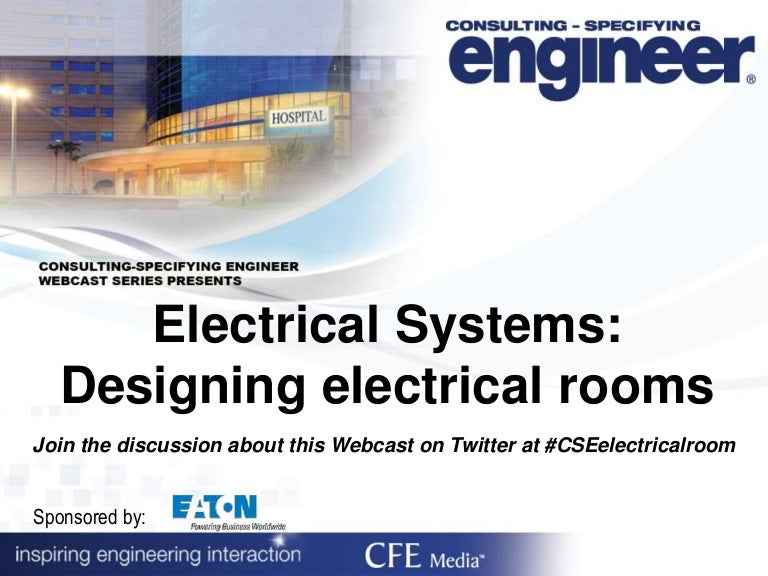 Electrical Systems Designing Electrical Rooms