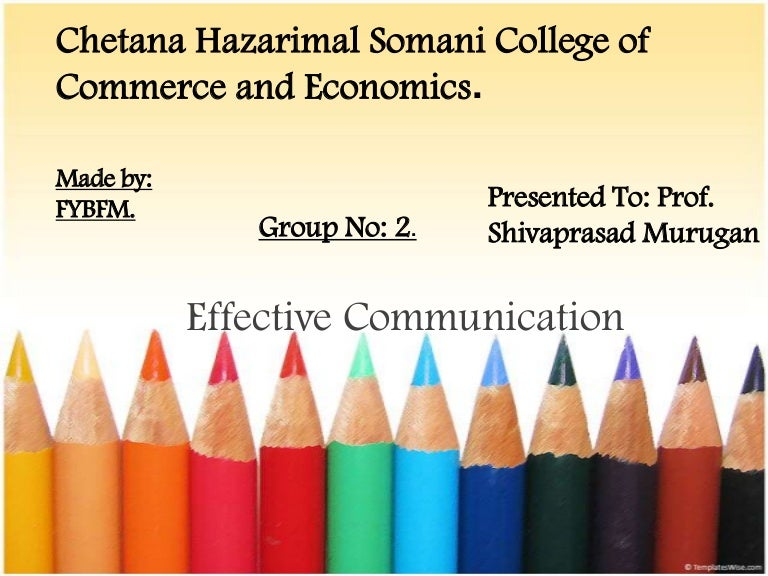 Communication Skills Ppt