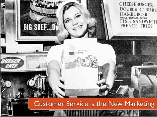 Customer Service is the New Marketing (Next09, Hamburg)