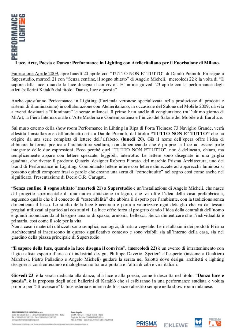 Tutto Luce Torino To cs performance in lighting luce arte poesia