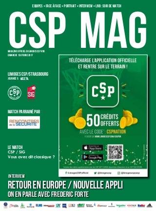 CSP MAG 99