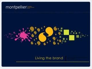 CSR presentation 'Living the Brand'