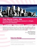 Case Study - Time Warner Cable : Unifying Mobile Broadband Access in a Single Easy to Use Interface