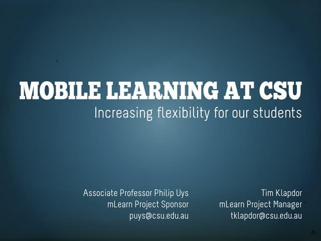 CSU Ed 2011