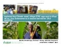 Climate-Smart Village approach in West Africa