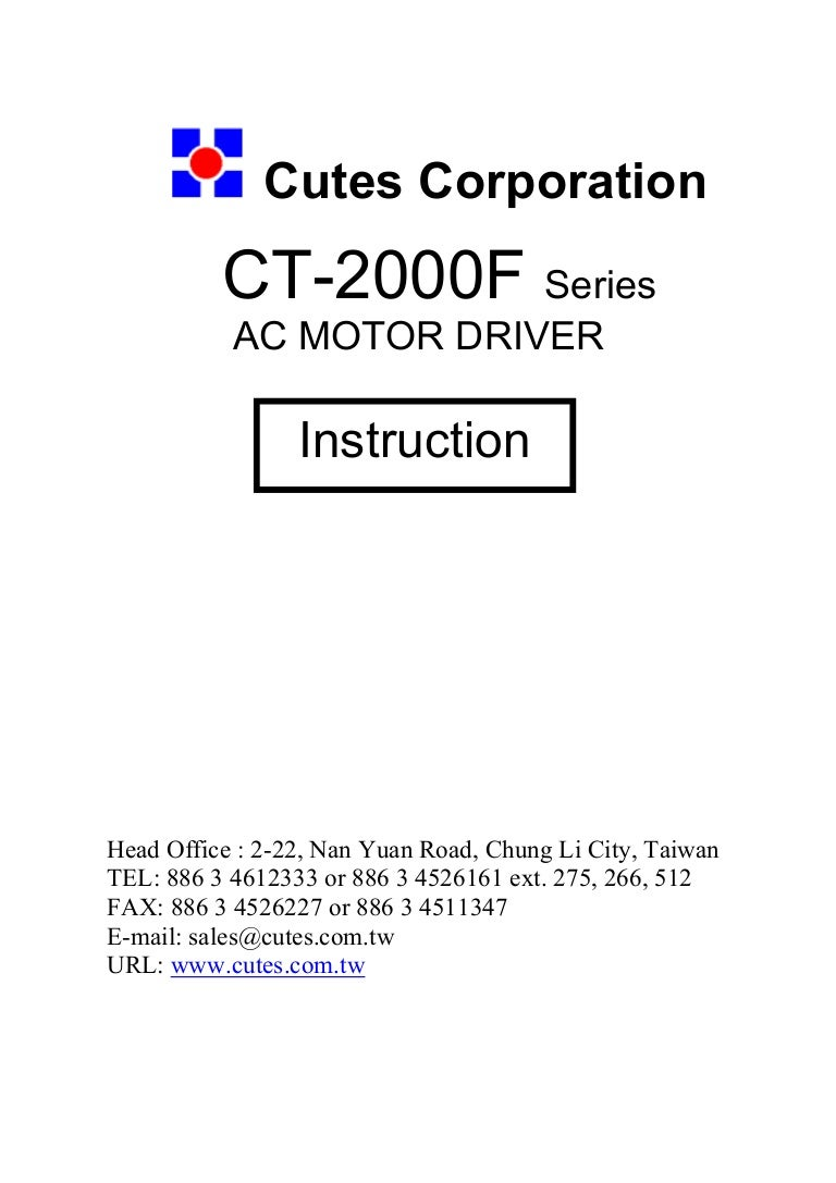 Ct2000 F Manual English Forward And Reverse Operation Of The Dynamic Braking Circuit 2