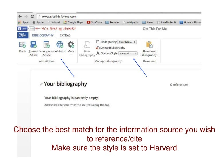 Cite this for me tutorial ccuart Images