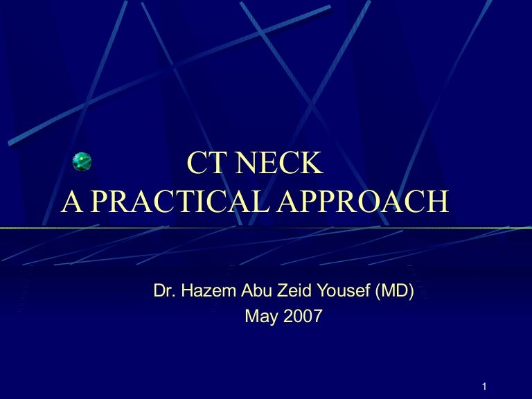 CT ANATOMY OF THE NECK SPACES