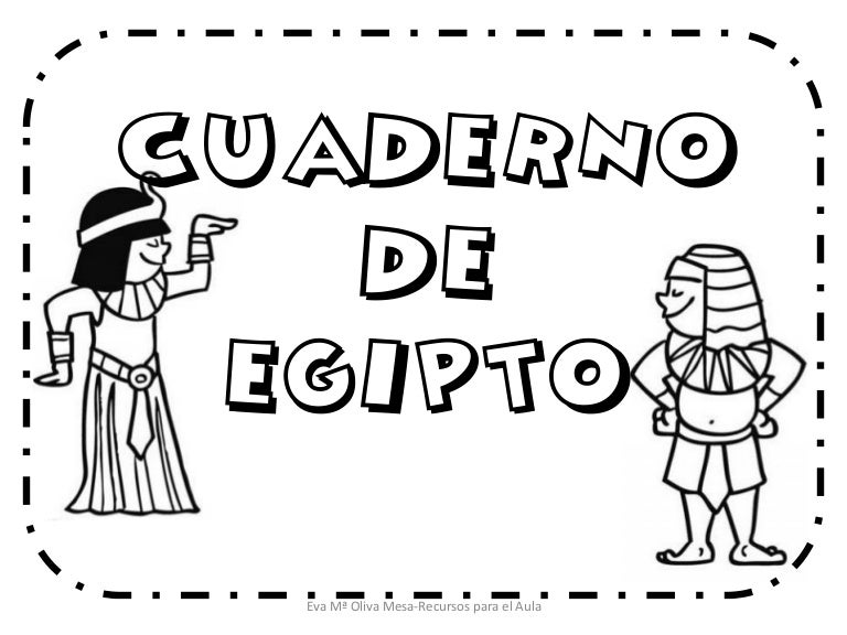 Cuaderno de-egipto