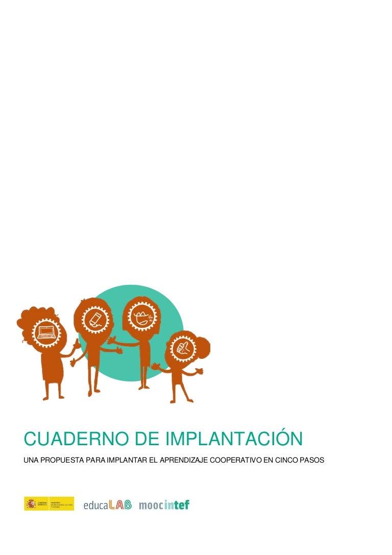 Cuaderno de implantación - MOOC Aprendizaje Cooperativo