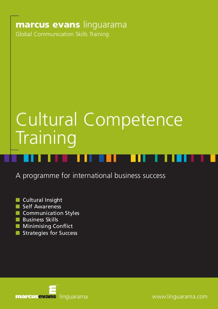 cultural competency and awareness organization and skills Indicate what cultural competence would look like and the related goals for your organization or community describe the vision for cultural competence - what qualities your organization or community would have when it becomes more culturally competent.