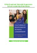 EPub Download Culturally Responsive School Leadership Read Books