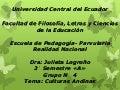 Culturas andinas  creado Por Bertha Analuisa y Mayorie Rojas