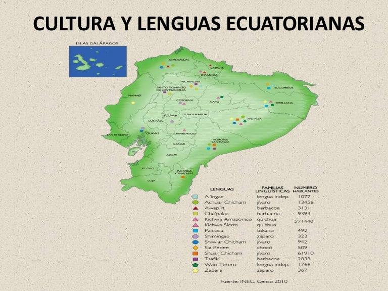 Cultura Y Lenguas Ecuatorianas 1