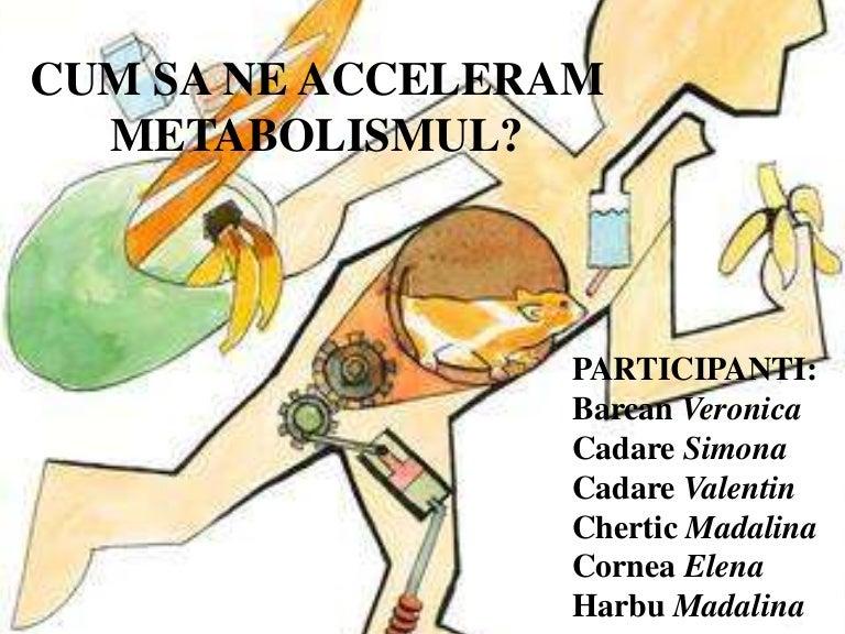 metabolismul mărește pierderea în greutate
