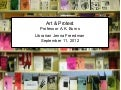 Art & Protest zines class at the Barnard Zine Library