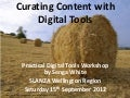 Curating Content with Digital Tools
