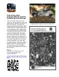 Flyer on how to view a full-scale augmented reality model of the NASA Curiosity Rover