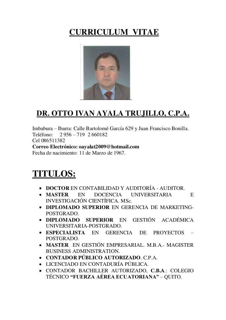 Currículo efectivootttofebrero2011