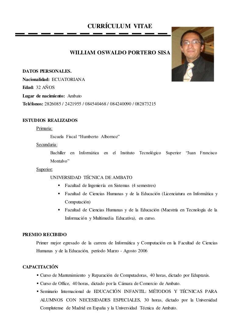 Magnífico Ejemplos De Currículums Para Pasantías Componente ...