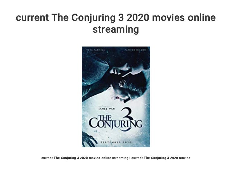 The Conjuring Online Stream