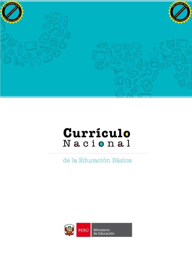 Curriculo nacional-2016-2