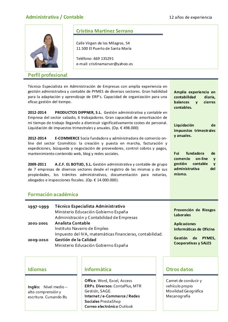 Curriculum vitae-cristina 2015