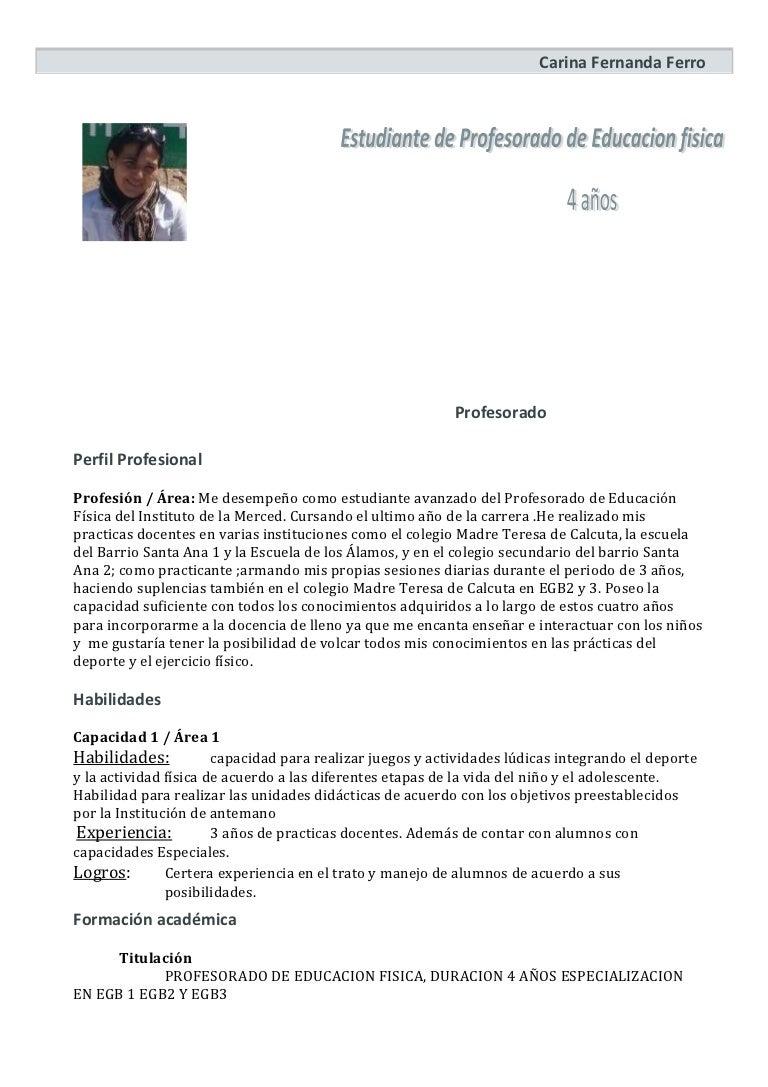 Curriculum vitae-modelo
