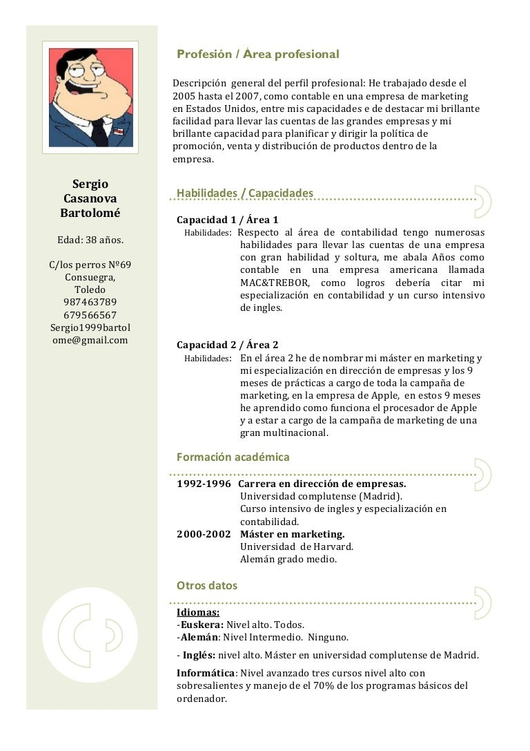 Fein Modelos De Resume En Inglés Bilder - Entry Level Resume ...