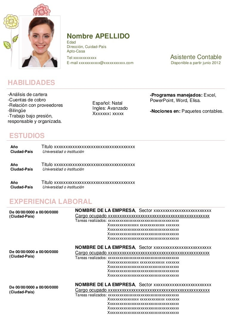 Curriculum Vitae Para Descargar En Word  Ejemplos Y. Letter Format For Mail. Curriculum Vitae 2018 En Espanol. Resume Job Purpose. Example Cover Letter For Job. Resume Template Word Blank. Letter Of Intent Sample Business Purchase. Sample Cover Letter For Job You Have No Experience In. Cover Letter Structure Reddit