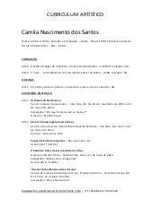 Curriculum Vitae Jimmy Banda