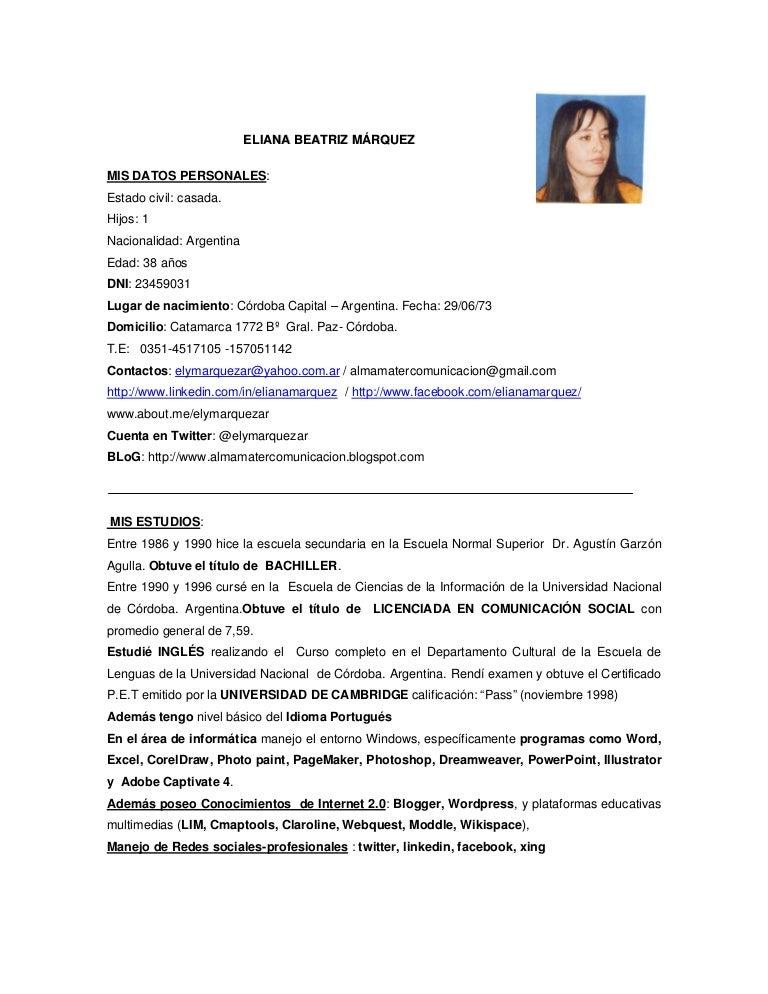 Fantástico Recientes Muestras De Currículum Universitario ...