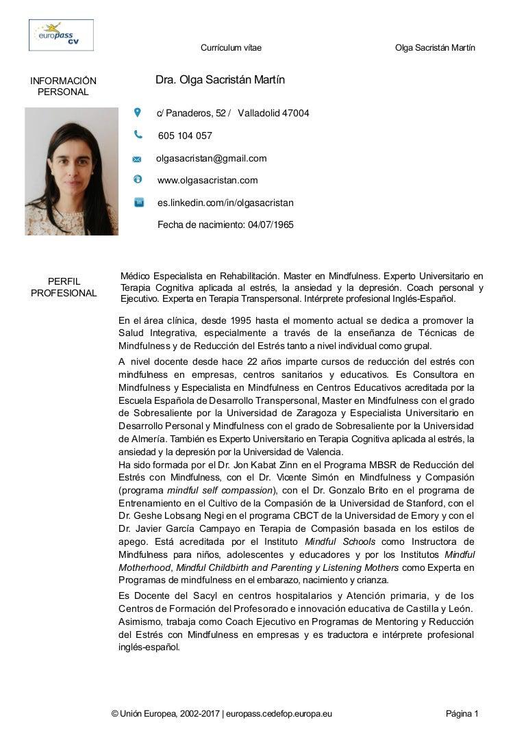 Increíble Experto En Curriculum Inspiración - Ejemplo De Colección ...
