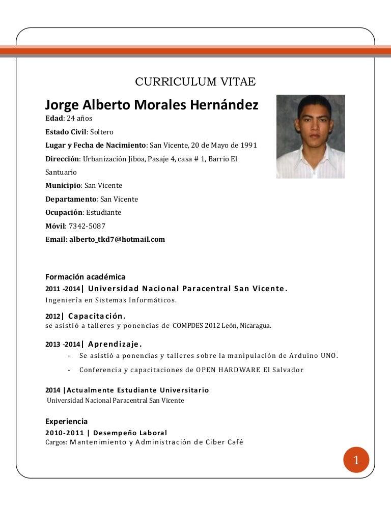 Vistoso Estudiantes De Ingeniería De Formato De Curriculum Vitae ...