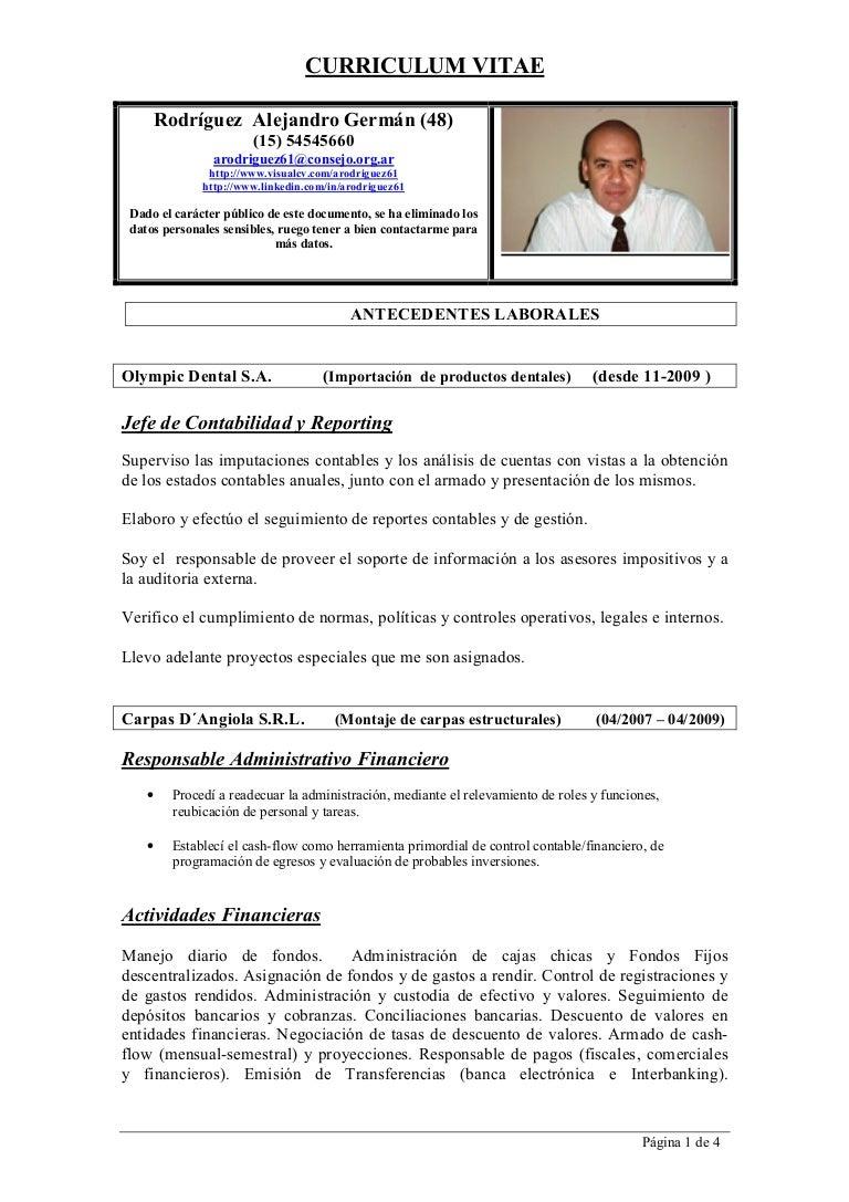 Curriculum Alejandro G. Rodriguez