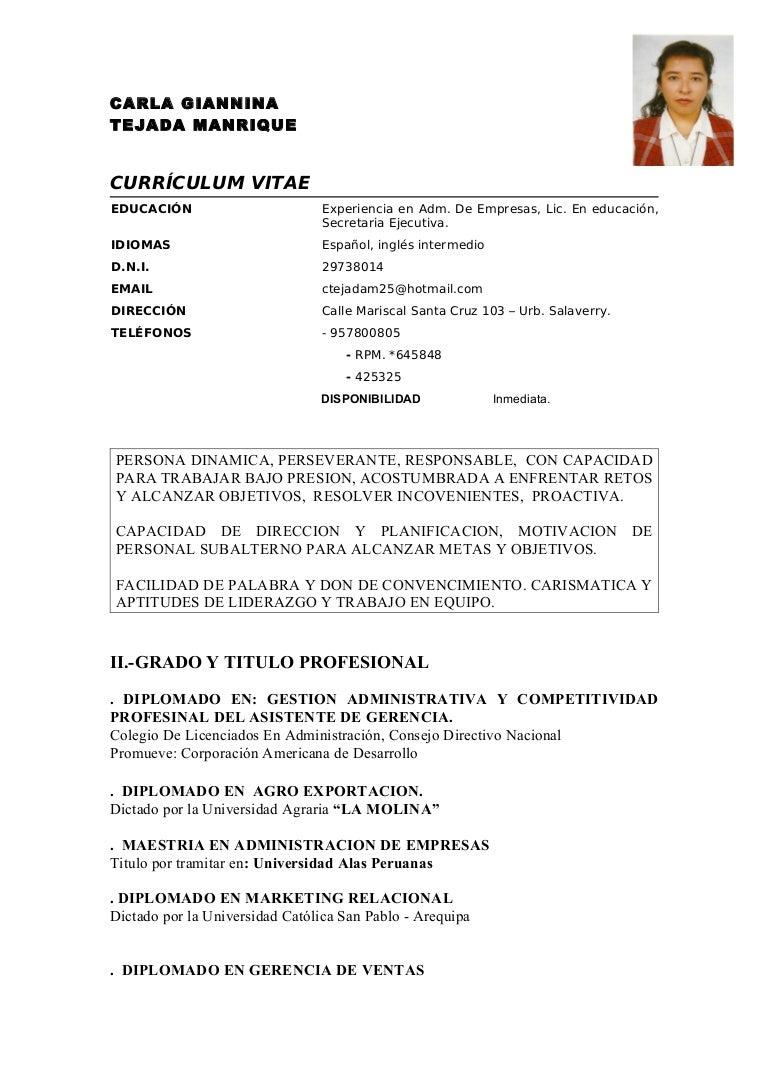 Lujoso Ejemplos De Currículums Objetivos Para La Gestión Ideas ...