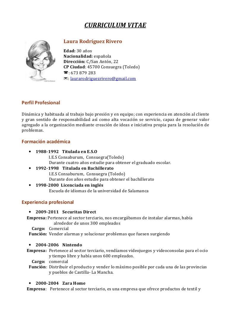 Contemporáneo Curriculum Vitae Para Salvavidas Embellecimiento ...