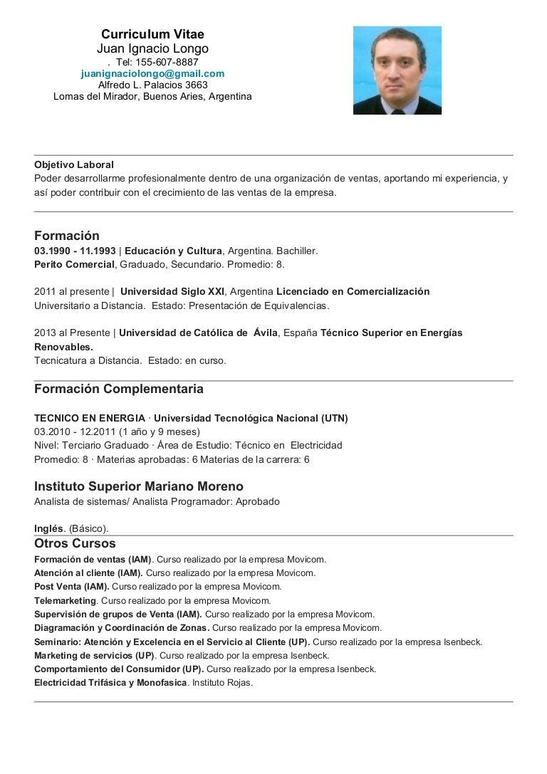 formato curriculum ejecutivo curriculum vitae